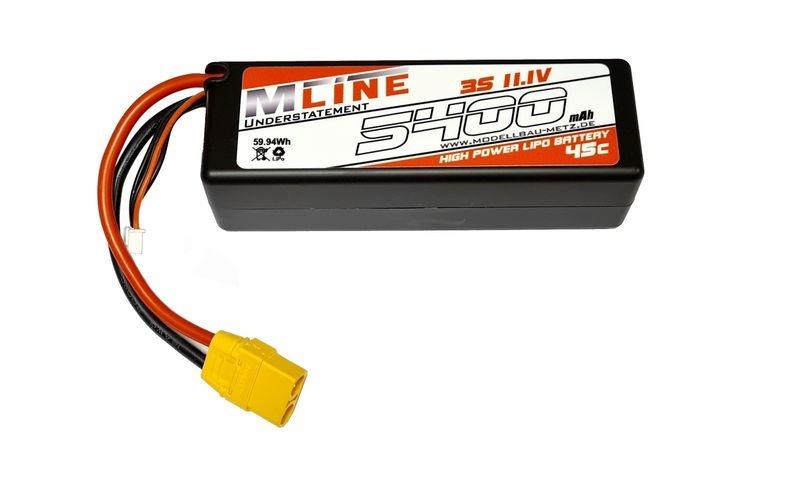 MLine UNDERSTATEMENT High Power LiPo 45C 3s 11,1V 5400mah