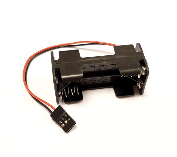HRC Batteriehalterung - AAA - 4 Zellen - Square -