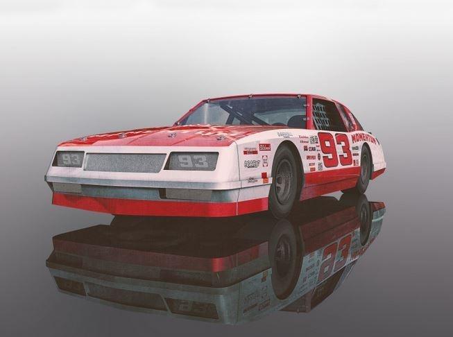 Scalextric Chevrolet Monte Carlo 1986 No.93 SRR
