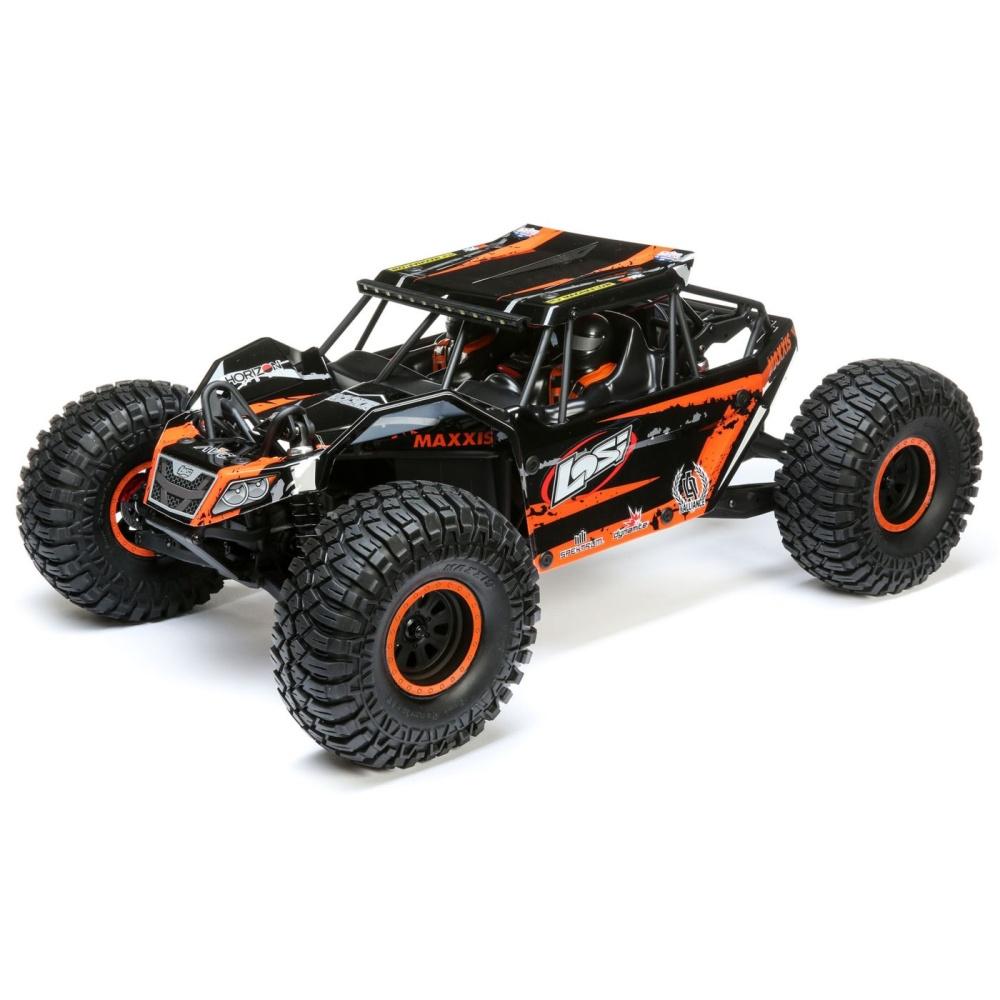Losi 1/10 Rock Rey 4WD Rock Racer Brushless BND (LOS03026)