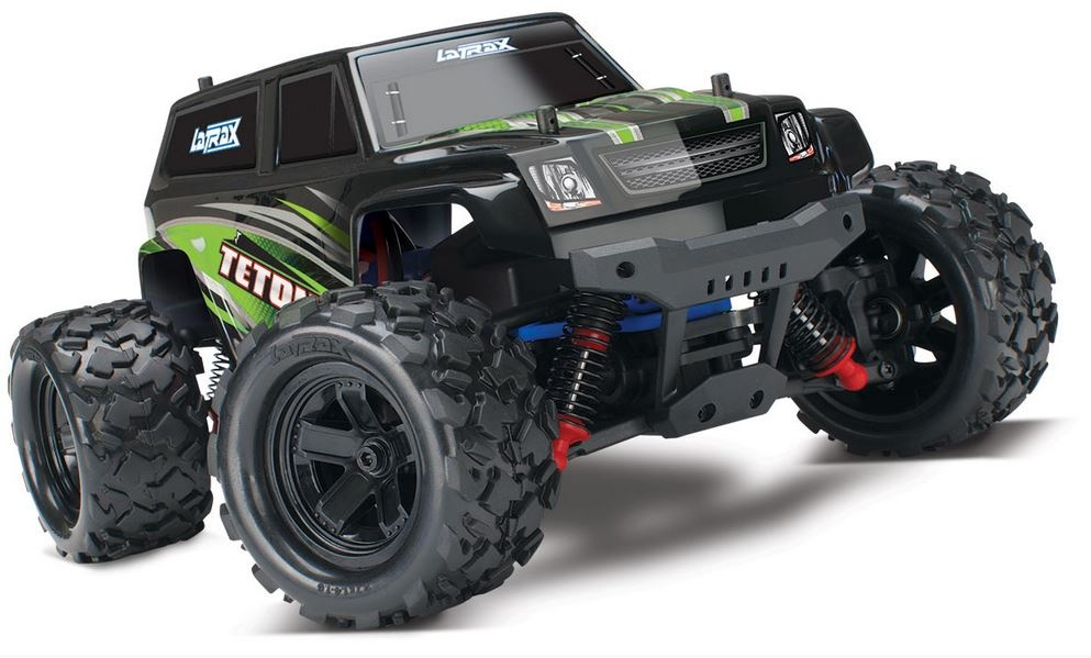 Traxxas LaTrax Teton 4WD Monster Truck 2.4GHz RTR 1:18