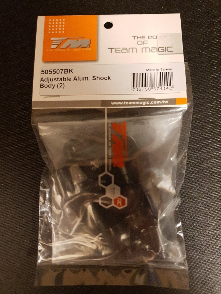 Team Magic Spare Part - E6 V-GEN - Adjustable Alum. Shock