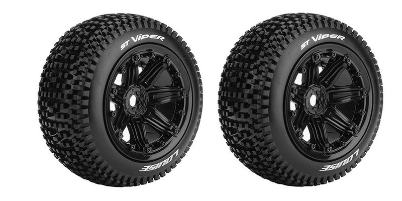 Louise RC ST-VIPER Sport-Compound Felge schwarz TRX,