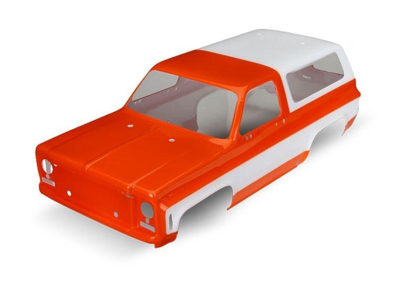 Traxxas Karo Chevrolet Blazer (1979) orange (ohne Anbauteile