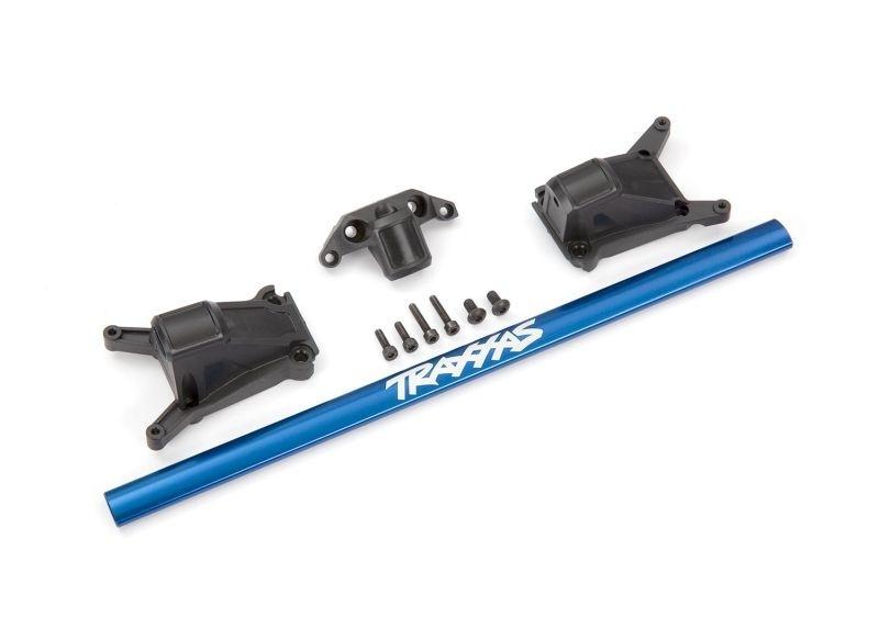 Traxxas Chassis Brace Kit blau für LGC-Chassis
