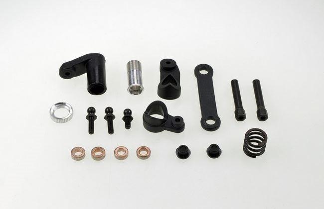 Carson X10EB-2WD Lenkeinheit /Servosaver Set