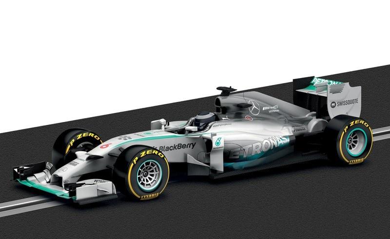 Scalextric Mercedes F1 Nico Rosberg 2014