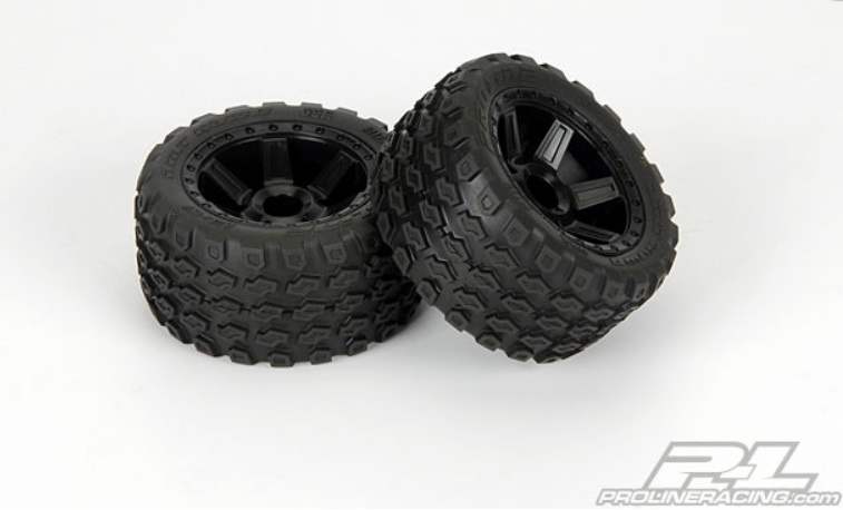 Pro-Line Dirt Hawg 2.8 All Terrain Reifen+Felgen verklebt