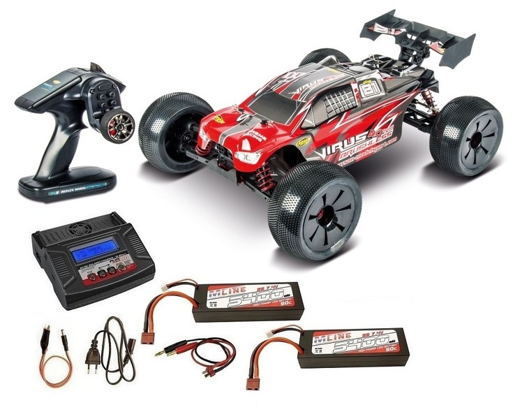 Carson Virus Pro 4.0 Truggy Brushless 2.4GHz RTR 1:8