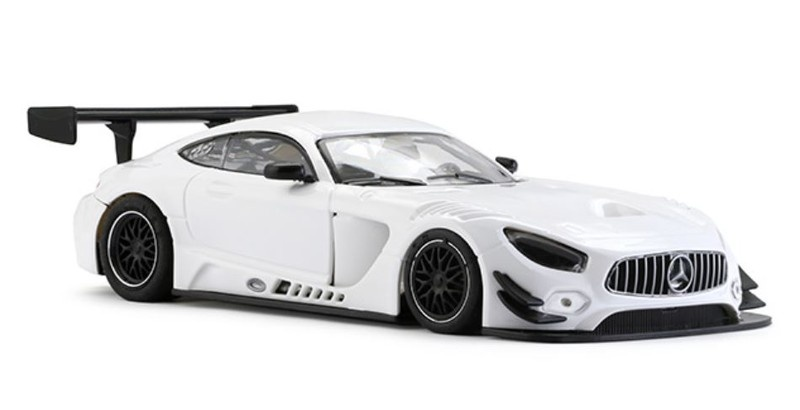 NSR - Mercedes-AMG - Test Car white -  AW King 21