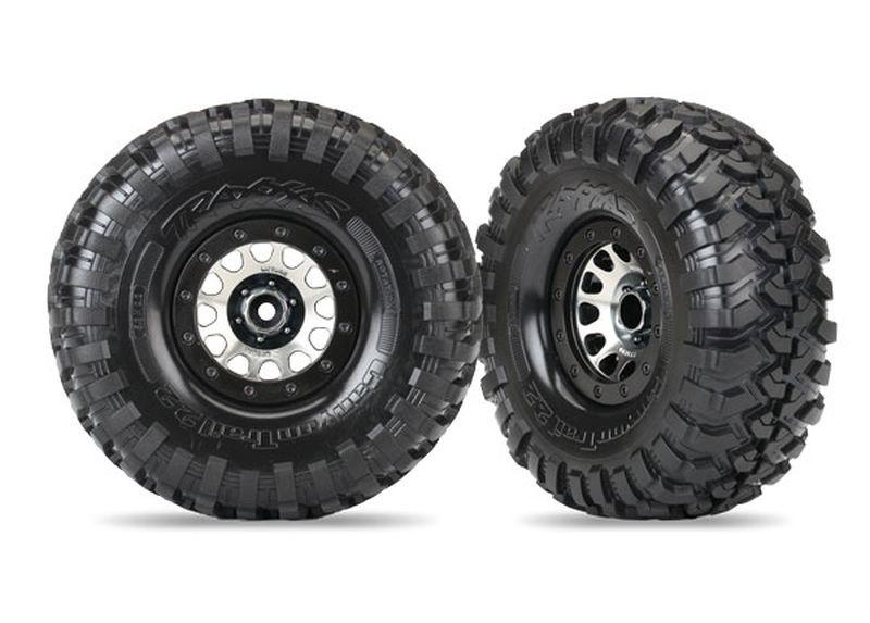 Traxxas Reifen auf Felge Canyon Trail 2.2 auf Method 105