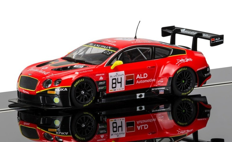 Scalextric Bentley Continental GT3 #84 red