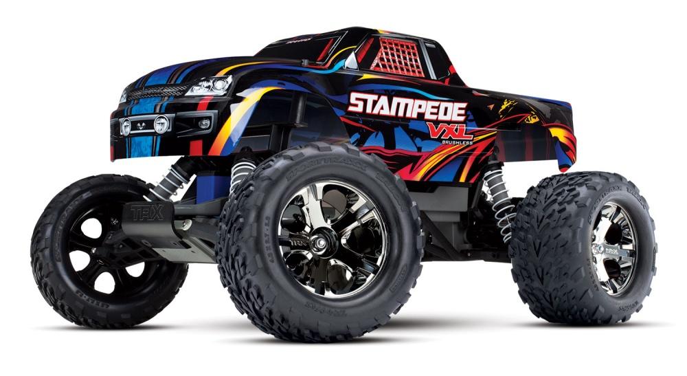 Traxxas Stampede VXL BL 2WD Monster Truck TQi2.4GHz TSM