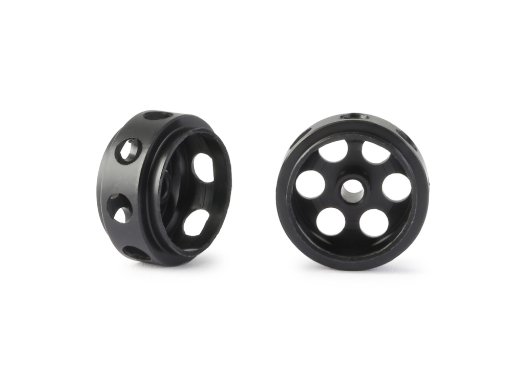 NSR 3/32 CNC Plastic Ultralight wheels Front Ø 16mm -