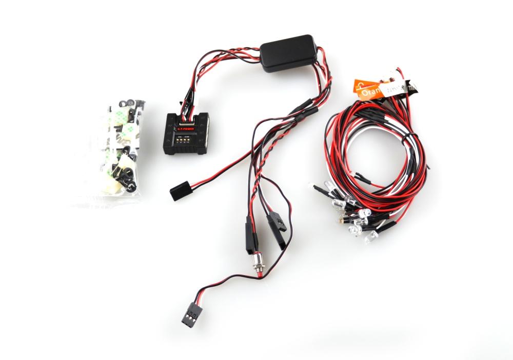 Amewi LED Licht System mit Kontrolleinheit