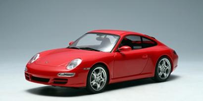 AutoArt 1:24 Porsche 911 (997) Carrera S rot