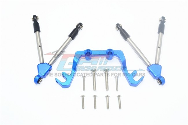 GPM aluminium front tie rods with stabilizer for c hub -