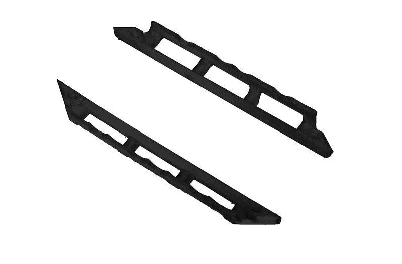 JS-Parts Sidebar ultraflex für Traxxas Maxx schwarz