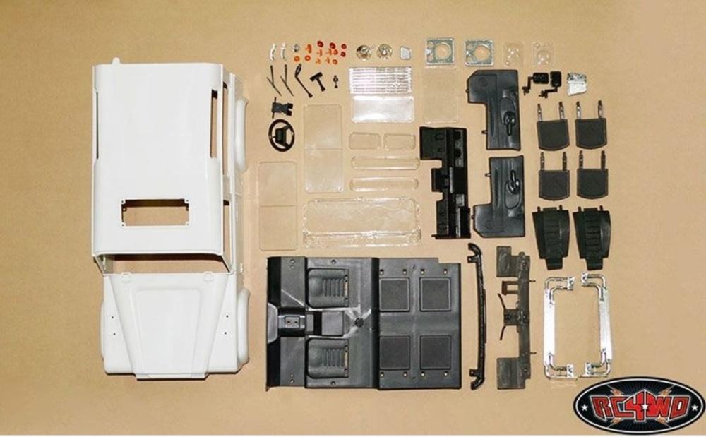 rc4wd land rover defender d90 hard plastic body kit 1 10 modellbau metz slotcars rc. Black Bedroom Furniture Sets. Home Design Ideas