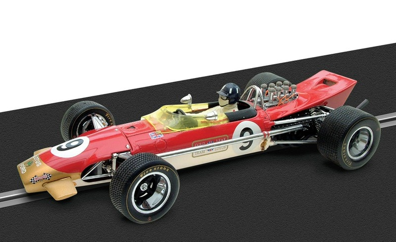 Scalextric Legends Team Lotus 49 #9