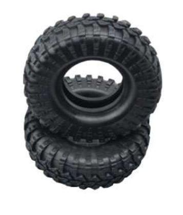 Amewi Reifen Set 108mm mit Einlage D90, grobes Profil,2