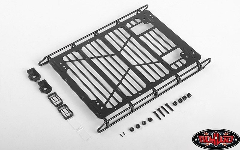 RC4WD Roof Rack W/Rear Lights for TRAXXAS TRX-4