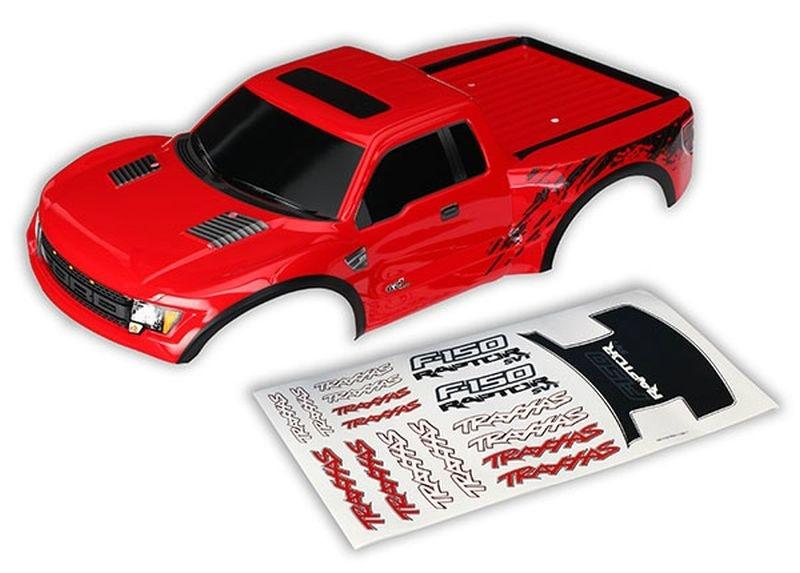 Traxxas Karosserie Ford Raptor rot