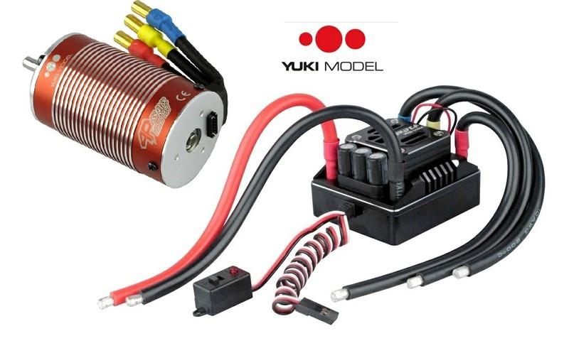 Auslauf - Yuki Model BOSS 1:8-Autoregler-Combo 160A