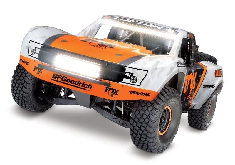 Traxxas Unlimited Desert Racer 4x4 VXL Fox-Edition 4WD Pro-
