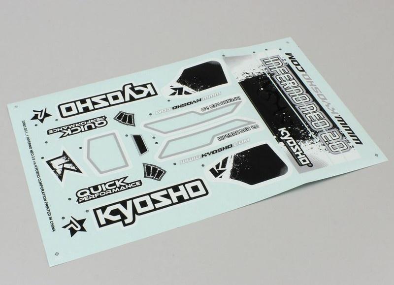 Kyosho Dekorbogen INFERNO NEO 2.0