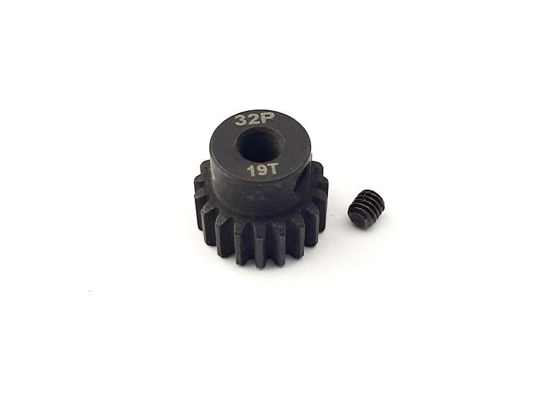 H-Speed Ritzel 19 Zähne 32dp, 5mm Stahl (M0.8)