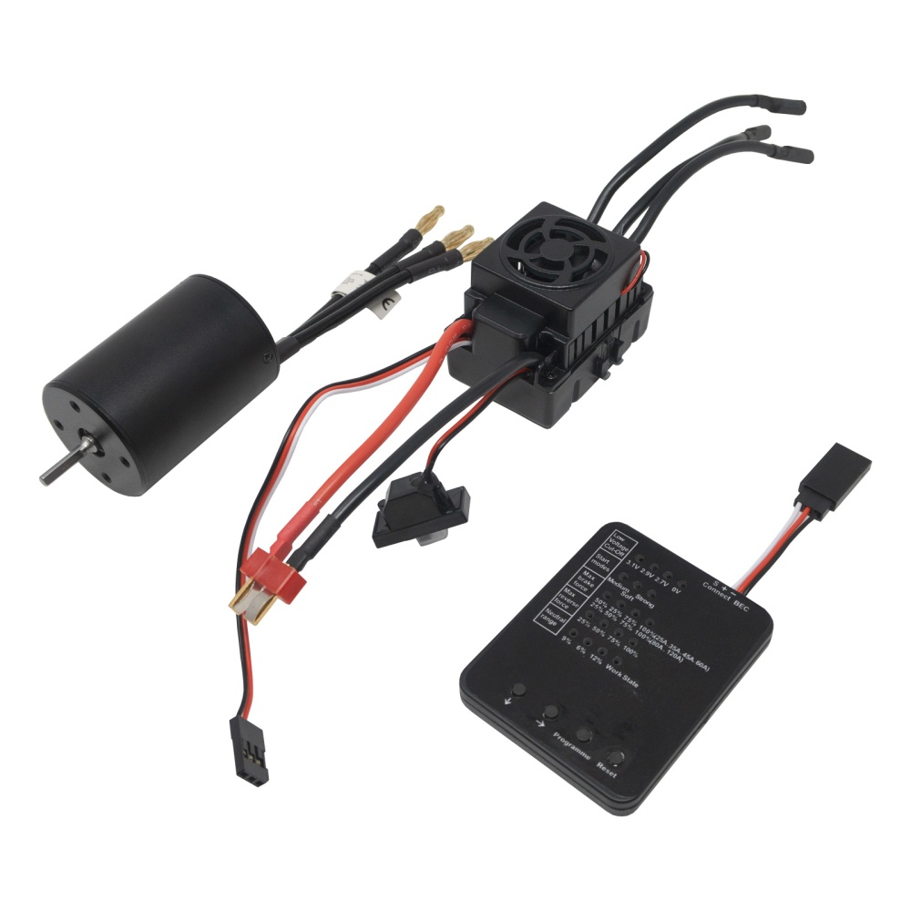 Yuki Model SUMO 1/10 B6 Combo 60A 3900KV waterproof