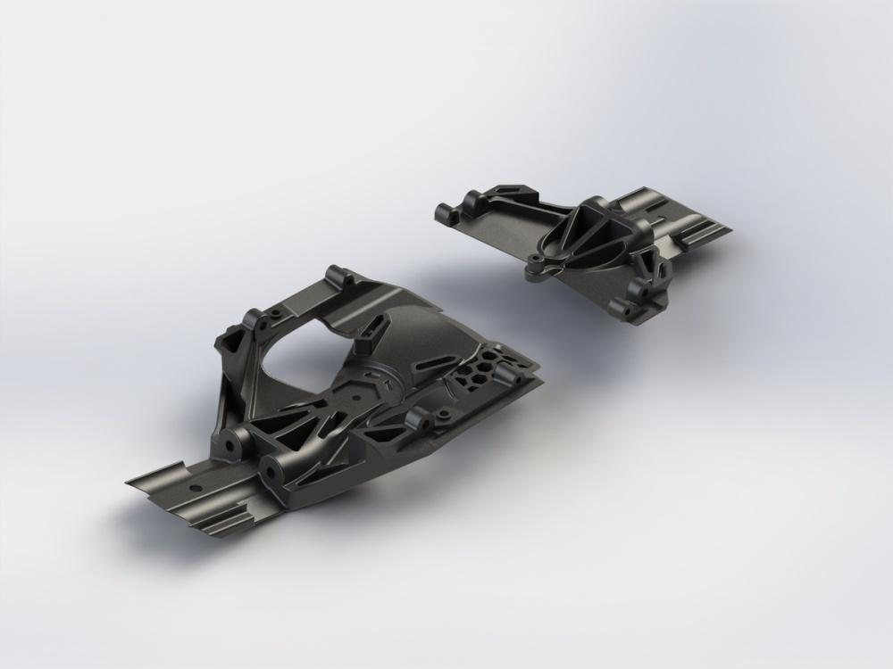 Arrma RC Skid Plate Set Lenkung