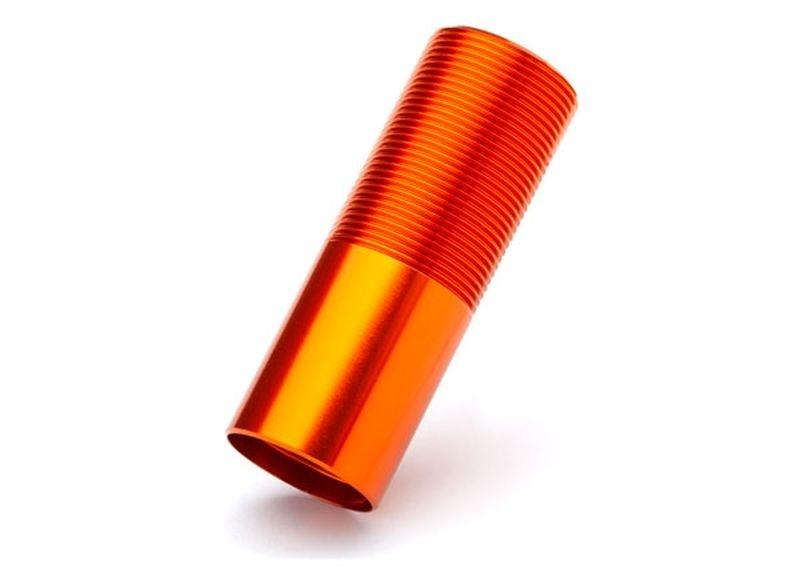 Traxxas Dämpfer-Gehäuse GT-Maxx Alu orange (1)
