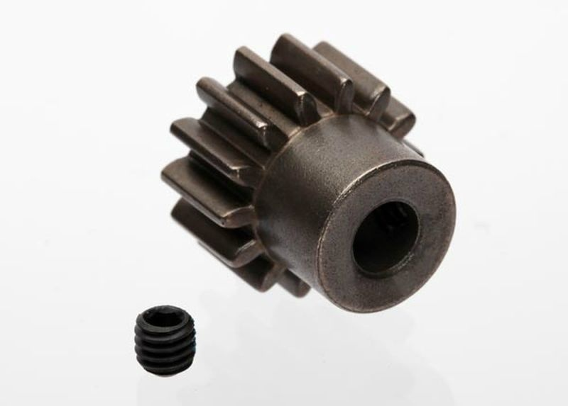 Traxxas Gear, 14-T pinion (1.0 metric pitch)(fits 5mm shaft)