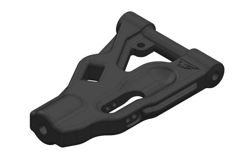 Team Corally Suspension Arm - Lower - Front - Composite -
