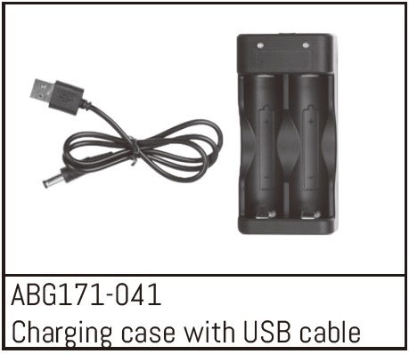 Absima Charging Box with USB Cable