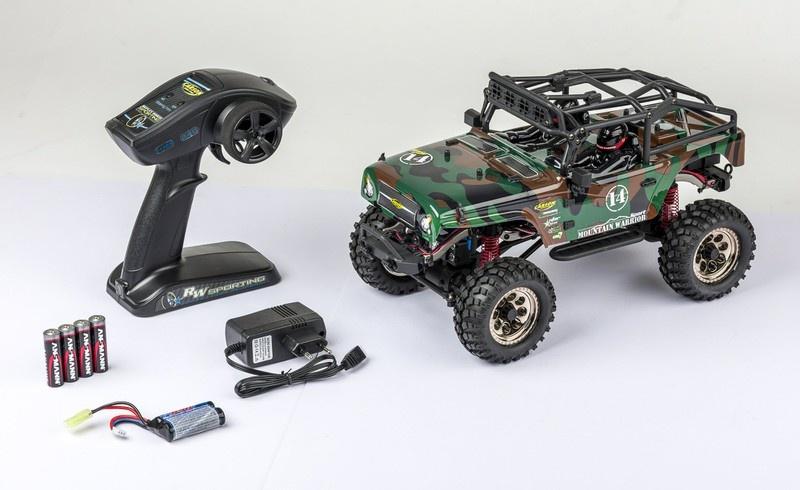 Carson RC Mountain Warrior Sport 4WD Crawler Camouflage