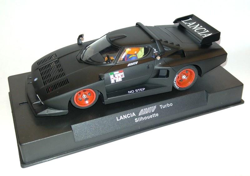 sideways lancia stratos turbo silhouette - modellbau metz - slotcars