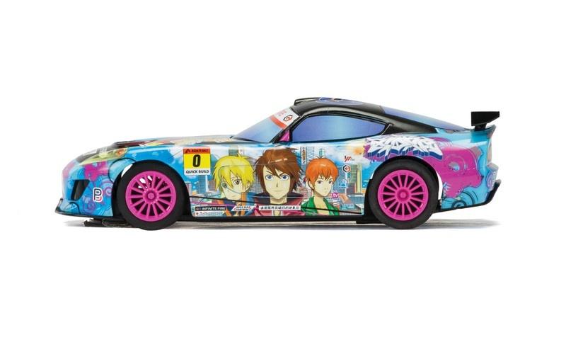 Scalextric GT Lightning-Sunrise Team GT SRR