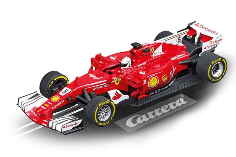 Carrera Digital 132 Ferrari SF70H S.Vettel, No.5 --LOSE--