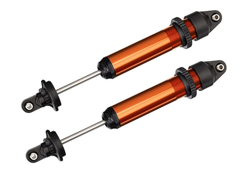 Traxxas Dämpfer GTX, Aluminium, orange eloxiert