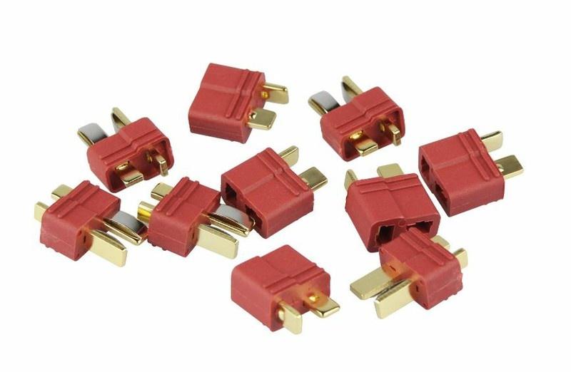 Yuki Model Goldkontakt kompatibel mit T-Plug, 5 Paare
