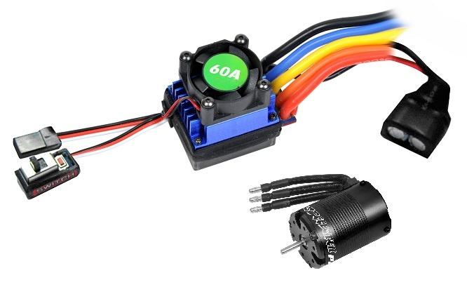 T2M Speedster Brushless Combo Regler 60A