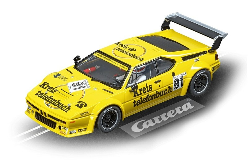 Carrera Digital 124 BMW M1 Procar Team Winkelhock, No.81,