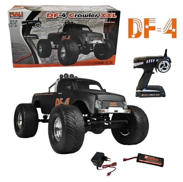 DF-Models DF-4 Crawler 4WD 2.4GHz RTR 1:10 -Brushed-