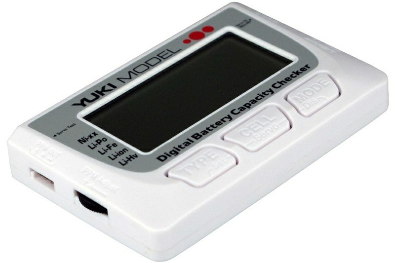 Yuki Model Digital Battery Capacity Checker