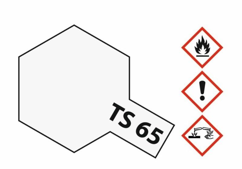 Tamiya Acryl-Sprühfarbe TS-65 Perleffekt Klarlack glänzend