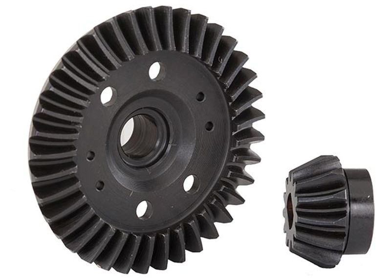 Traxxas Ring-Gear Diff/Ritzel-Gear Diff(machined,spiral cut)