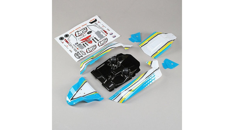 Losi Body Set, Blue: Tenacity Desert Buggy (LOS230052)